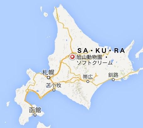 地図:SA・KU・RA(さくら)