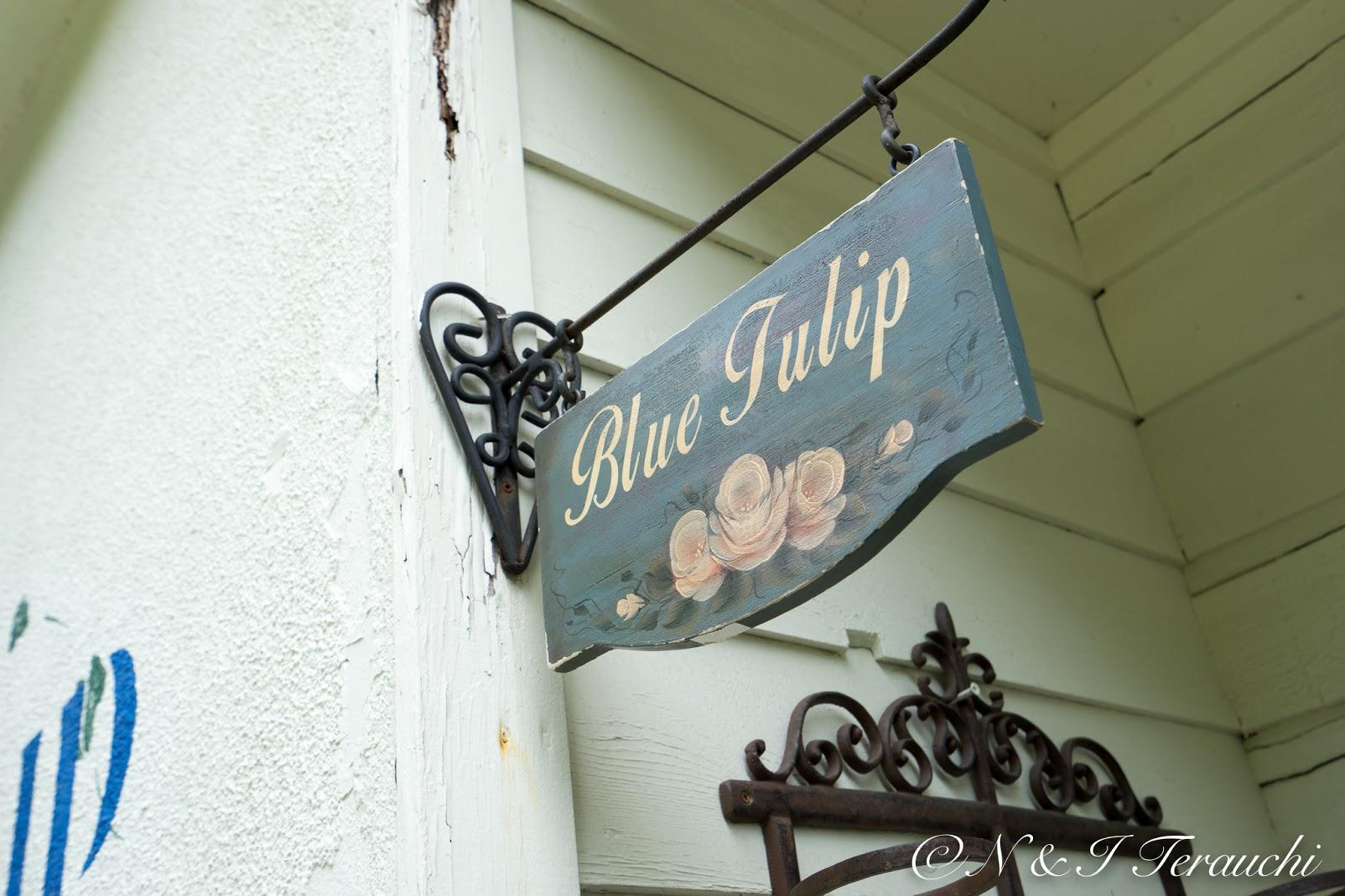 ブルーチューリップ(Blue tulip・札幌市)カフェブルーのお隣に位置する姉妹店の雑貨屋さん