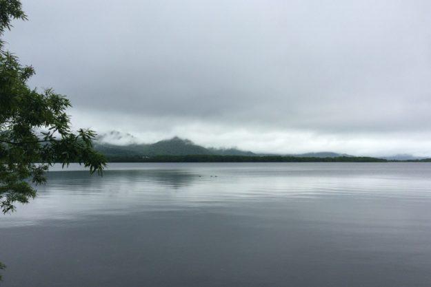 心体ともに癒される風景(屈斜路湖)
