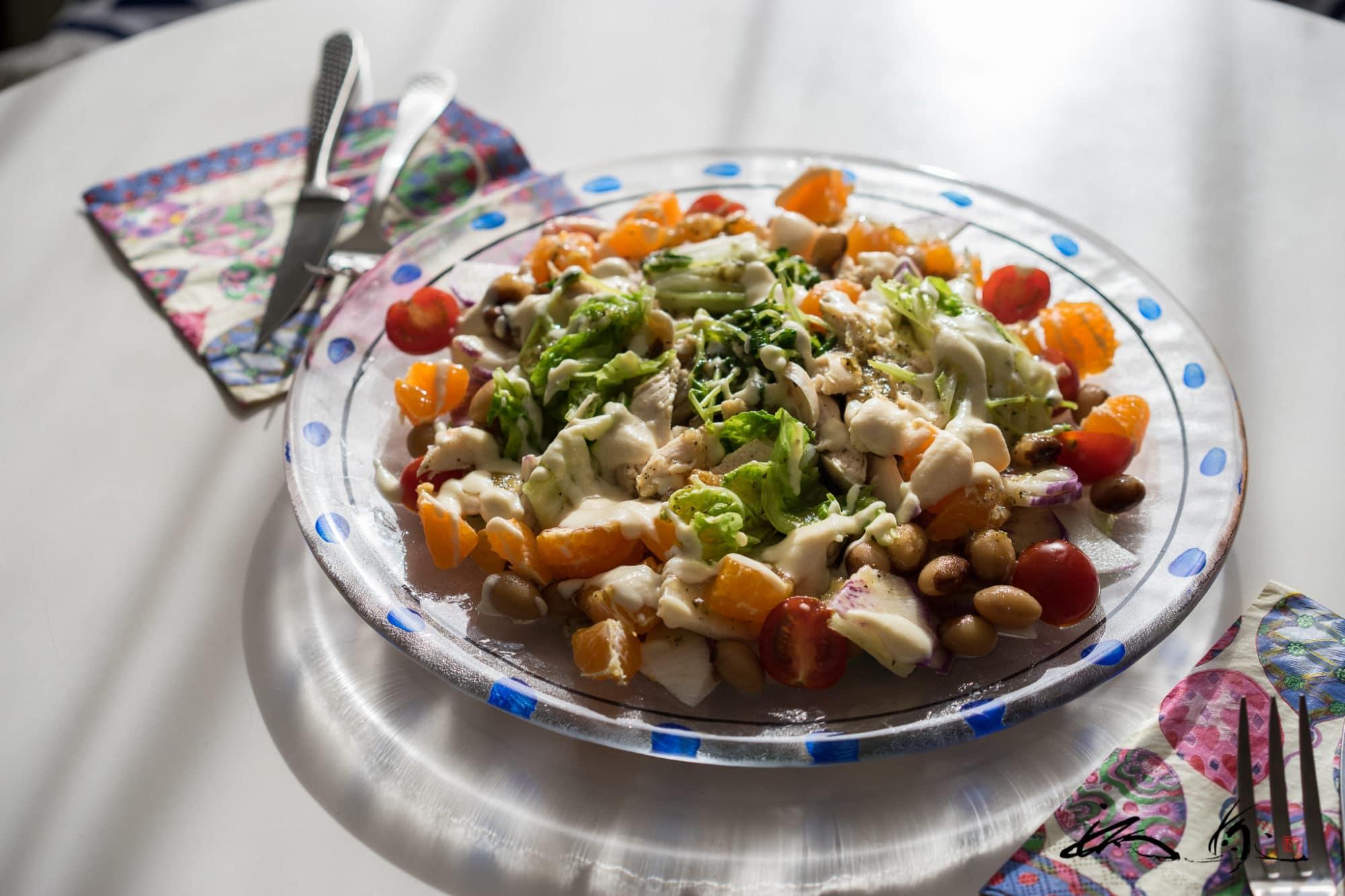 パワーサラダ・白菜と鶏ささみのサラダ:食事編(7)腸内フローラバランス