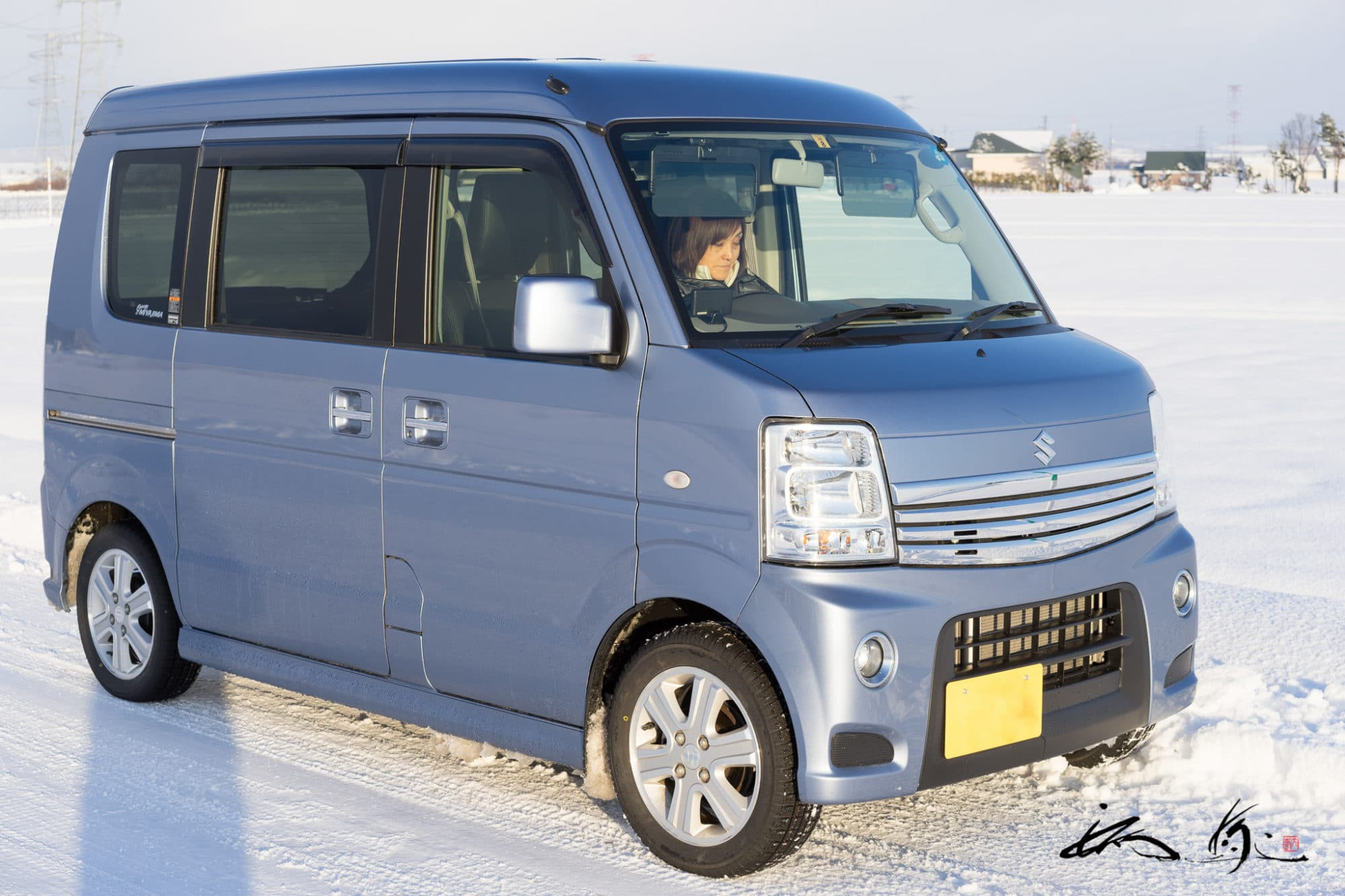 車中泊車の選定経緯・軽自動車エブリィワゴンPZターボSP・4WDハイルーフ