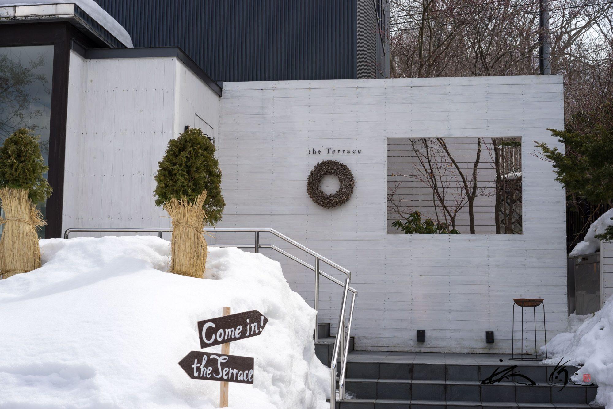 テラス(the Terrace・札幌市)は一軒家のフレンチレストラン