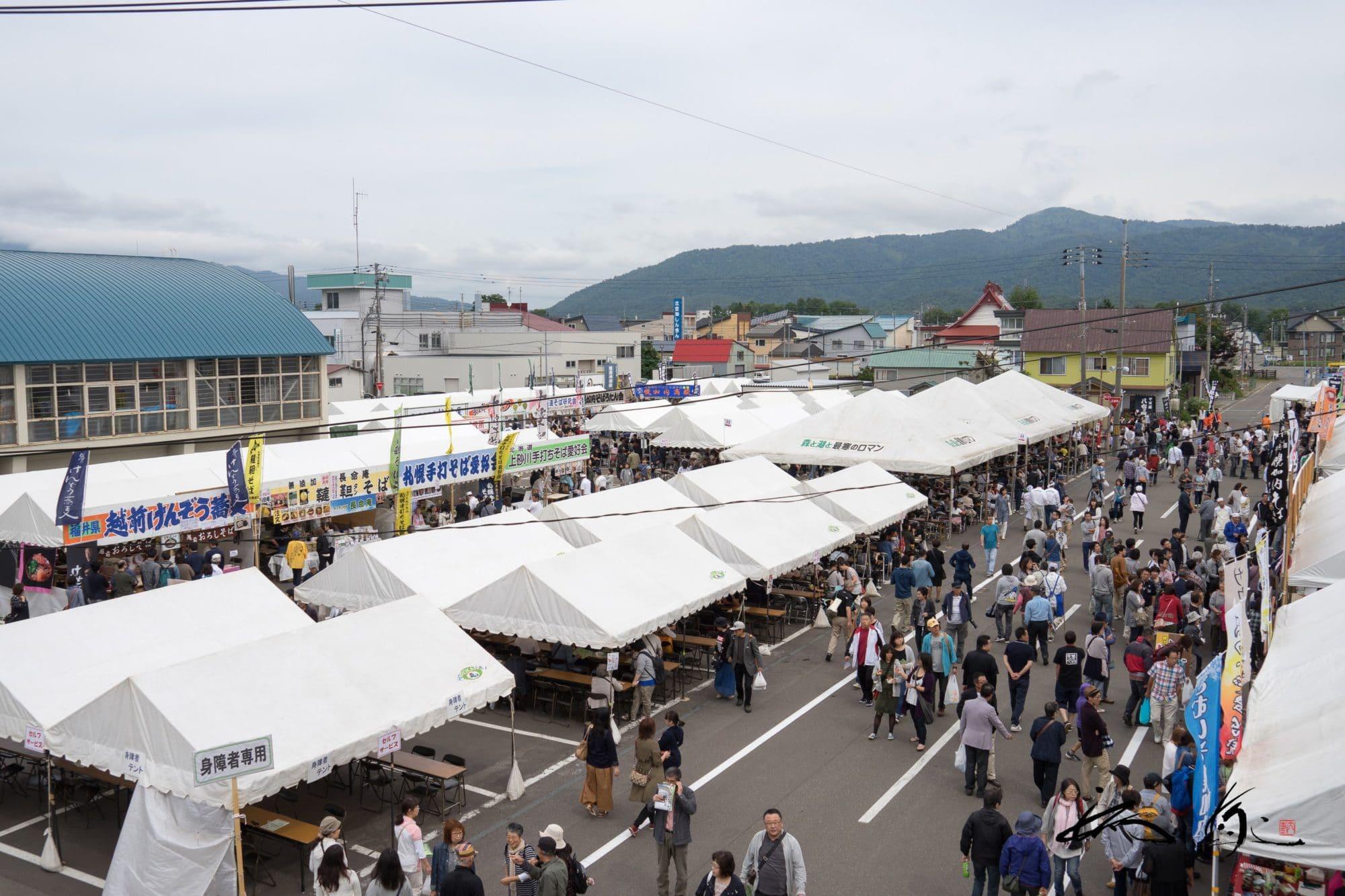 第24回幌加内町新そば祭り 2017(幌加内町)道内外16店舗が集結