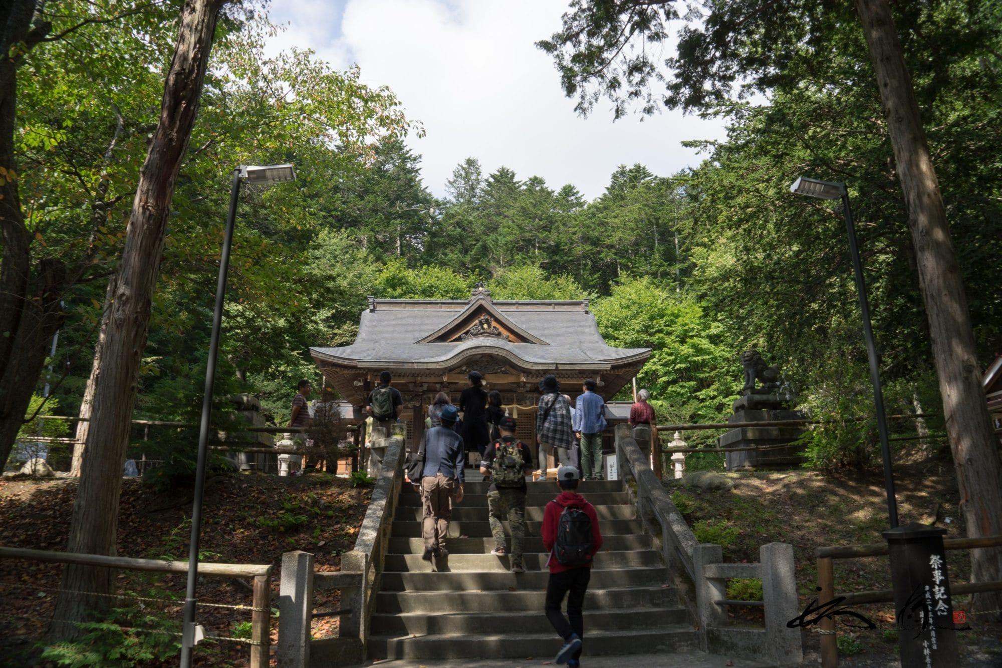 義経神社・平取町【No.04】北海道御朱印巡り
