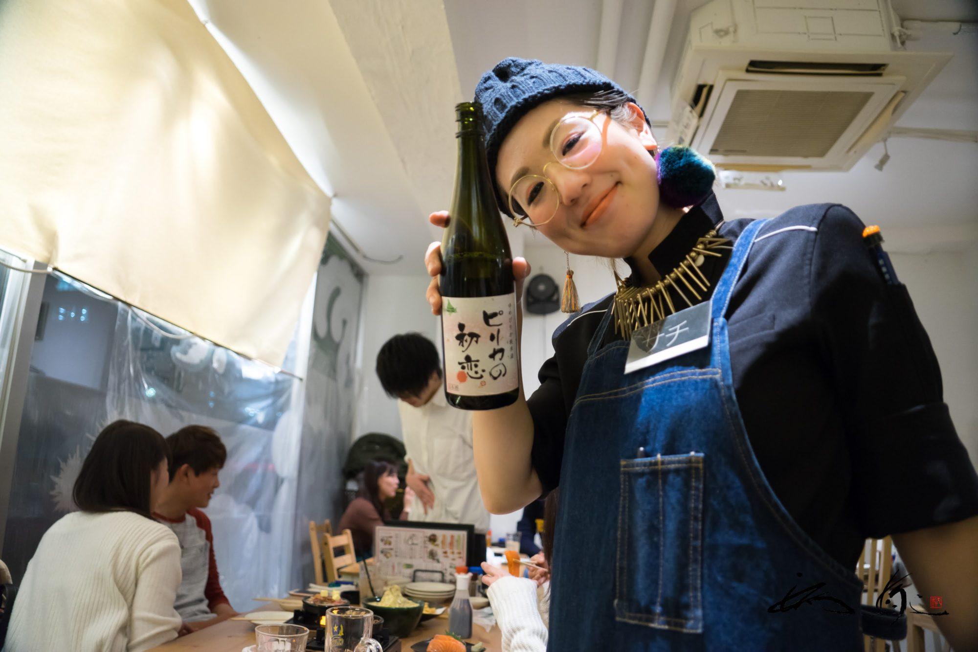 海さくら 蝦夷海(札幌市)赤い鳥居が鎮座する女将サチさんこだわりの居酒屋