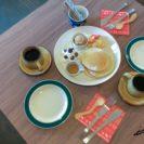 カフェドゥソバ 凜 (Cafe De SOBA・増毛町)でそば粉100%・ベーキングパウダーを使わない「凛パクトパンケーキ」(冬期限定)を味わう