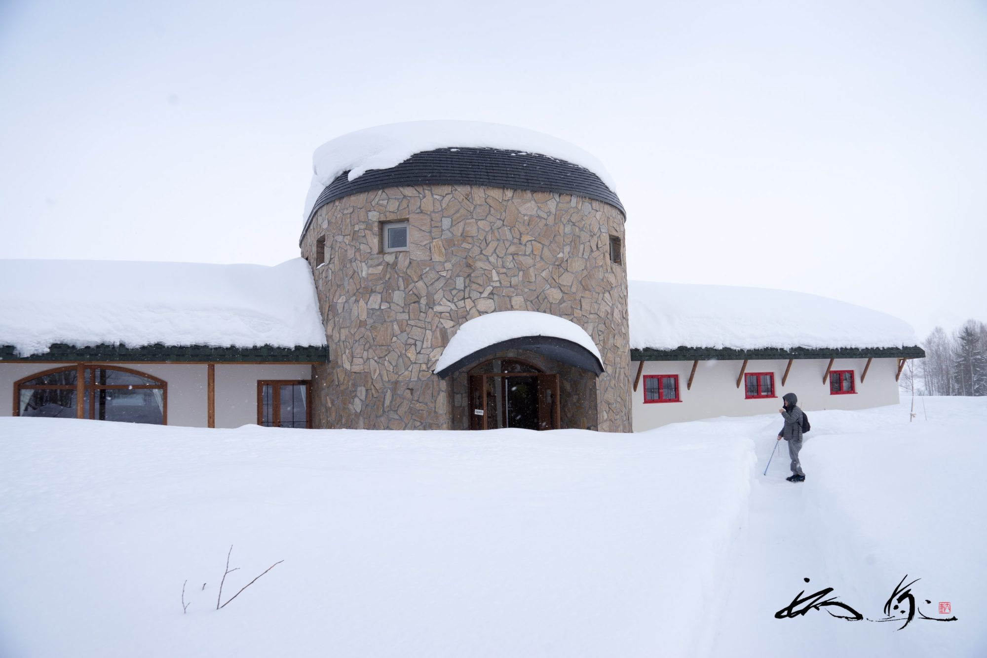 フェルム ラ・テール 美瑛(美瑛町)で美しい冬景色とランチを堪能