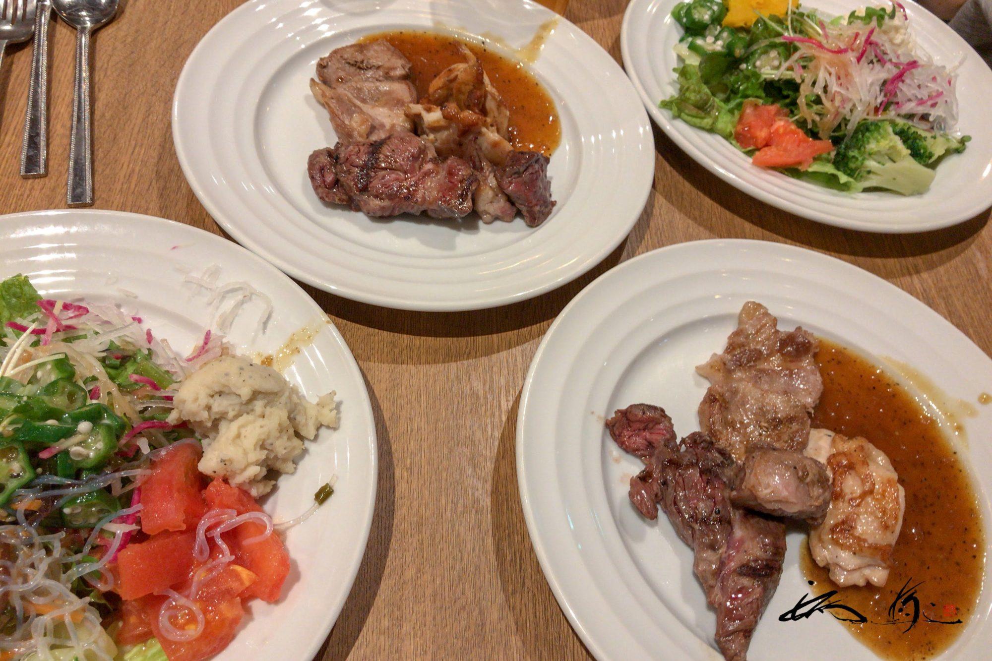 ビーフラッシュ29(BEEF RUSH 29・札幌駅ステラプレイス・札幌市)ステーキ&サラダバー・食べ放題