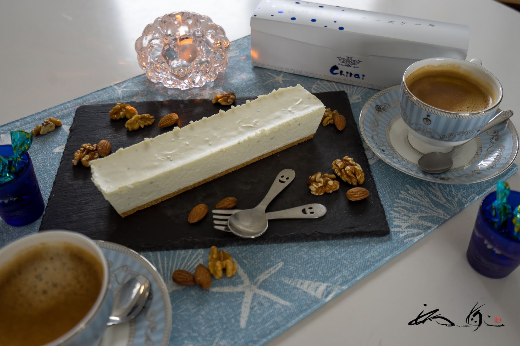 江丹別の青いチーズケーキ@アゼリア(旭川空港ターミナルショップ)幻のブルーチーズケーキに出会う